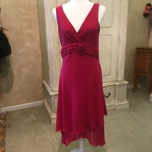 Dresses & Skirts - Fuchsia cocktail dress